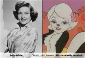 Betty White Totally Looks Like Miss Mam'selle Hepzibah