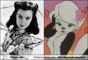 Vivien Leigh Totally Looks Like Miss Mam'selle Hepzibah