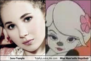 Juno Temple Totally Looks Like Miss Mam'selle Hepzibah