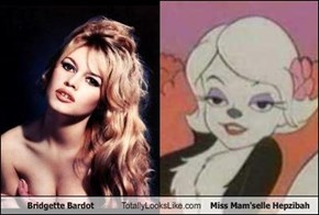 Bridgette Bardot Totally Looks Like Miss Mam'selle Hepzibah