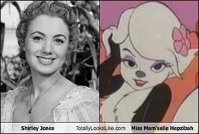 Shirley Jones Totally Looks Like Miss Mam'selle Hepzibah