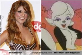 Shiri Maimon Totally Looks Like Miss Mam'selle Hepzibah