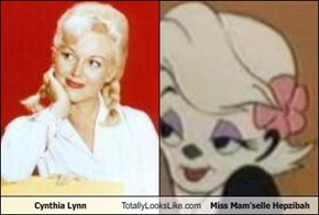 Cynthia Lynn Totally Looks Like Miss Mam'selle Hepzibah
