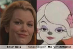 Bellamy Young Totally Looks Like Miss Mam'selle Hepzibah