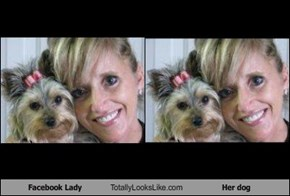 Facebook Lady Totally Looks Like Her dog