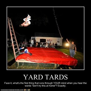 YARD TARDS