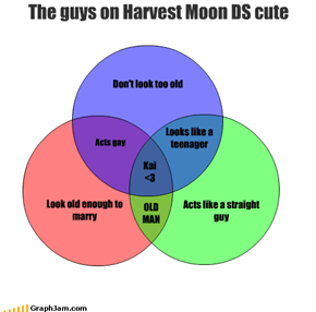 The guys on Harvest Moon DS cute