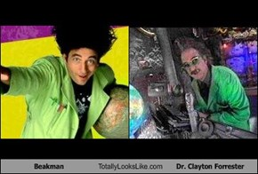Beakman Totally Looks Like Dr. Clayton Forrester