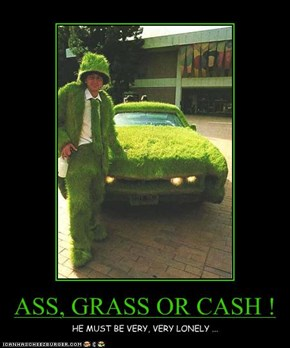 ASS, GRASS OR CASH !