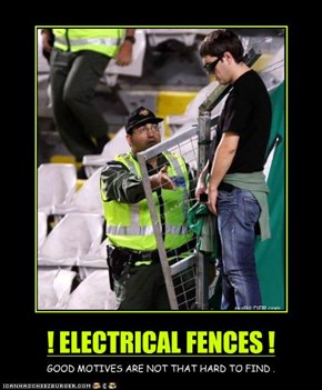 ! ELECTRICAL FENCES !