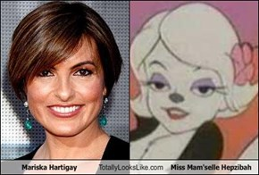 Mariska Hartigay Totally Looks Like Miss Mam'selle Hepzibah