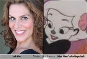 Lori Alan Totally Looks Like Miss Mam'selle Hepzibah