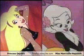 Princess Daphne Totally Looks Like Miss Mam'selle Hepzibah