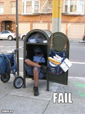 Mail Delivery Fail