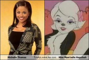 Michelle Thomas Totally Looks Like Miss Mam'selle Hepzibah