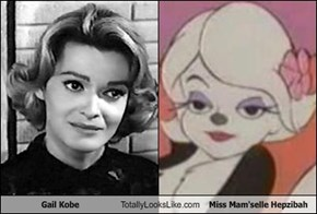 Gail Kobe Totally Looks Like Miss Mam'selle Hepzibah