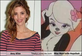 Amy Allen Totally Looks Like Miss Mam'selle Hepzibah