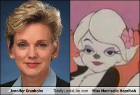 Jennifer Granholm Totally Looks Like Miss Mam'selle Hepzibah