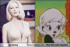 Joi lansing Totally Looks Like Miss Mam'selle Hepzibah