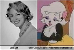 Dora Doll Totally Looks Like Miss Mam'selle Hepzibah