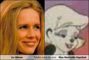 Liv Ullman Totally Looks Like Miss Mam'selle Hepzibah
