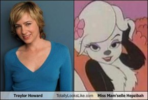 Traylor Howard Totally Looks Like Miss Mam'selle Hepzibah