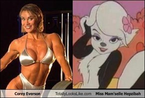 Corey Everson Totally Looks Like Miss Mam'selle Hepzibah