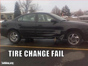 Tire Change Fail