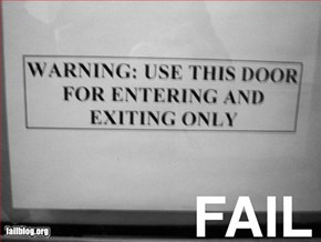 Warning Fail
