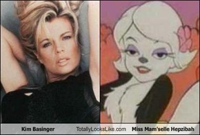 Kim Basinger Totally Looks Like Miss Mam'selle Hepzibah