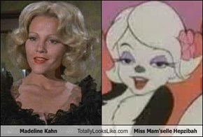 Madeline Kahn Totally Looks Like Miss Mam'selle Hepzibah