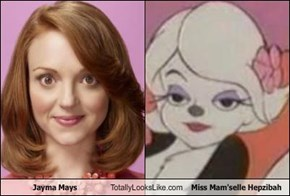 Jayma Mays Totally Looks Like Miss Mam'selle Hepzibah