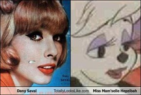 Dany Saval Totally Looks Like Miss Mam'selle Hepzibah