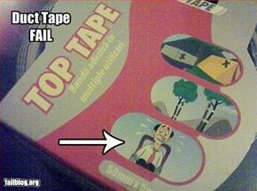 Duct Tape Illustration Fail