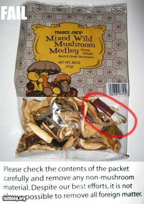 Mushroom Medley Fail