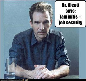 Dr. Alcott says: laminitis = job security