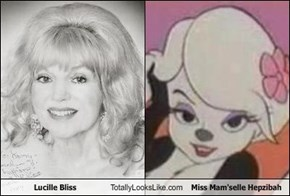 Lucille Bliss Totally Looks Like Miss Mam'selle Hepzibah