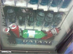 Soda Machine Fail