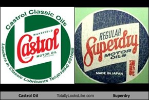 Castrol Oil Totally Looks Like Superdry