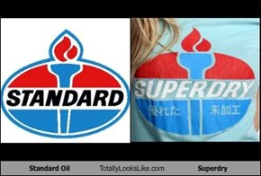 Standard Oil Totally Looks Like Superdry