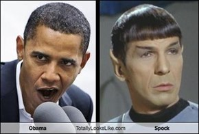 Obama Totally Looks Like Spock