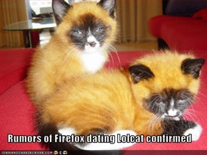 Rumors of Firefox dating Lolcat confirmed