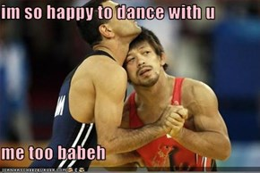 im so happy to dance with u  me too babeh
