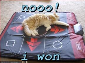 nooo!  i won