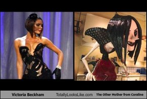 Victoria Beckham Totally Looks Like The Other Mother from Coraline