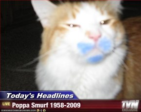 Today's Headlines - Poppa Smurf 1958-2009