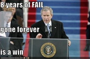 8 years of FAIL gone forever is a win