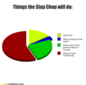 Things the Slap Chop will do:
