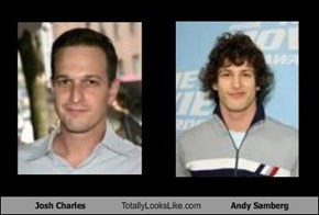 Josh Charles Totally Looks Like Andy Samberg
