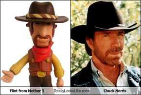 Flint from Mother 3 Totally Looks Like Chuck Norris